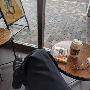 スターバックスコーヒーで読書