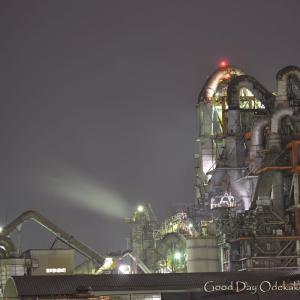 工場夜景6 ラスボス 側景
