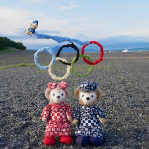 ブルーくんの東京オリンピック2020 展示飛行