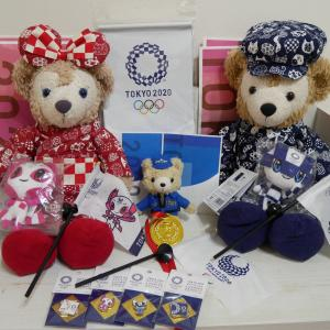 東京オリンピック2020グッズとメダルラッシュ