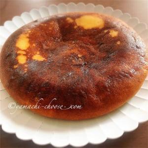 チーズケーキを炊飯器で簡単に作ったよ☆おうちカフェのおやつタイムに家族みんなで食べました♪