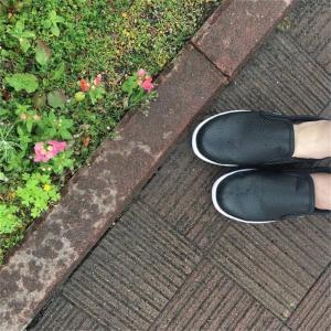 レインシューズにおすすめ!ワークマンの滑らない靴『ファイングリップシューズ』を雨の日に履いてます☆
