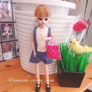 リカちゃんの服作り☆型紙は本から選ぶと簡単に可愛い手縫い服が作れたよ!ママの趣味におすすめです♪