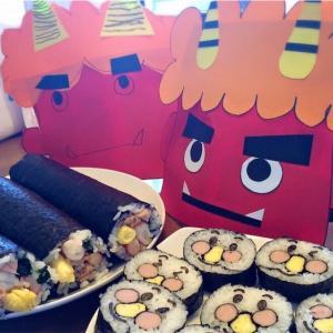 恵方巻き具材は子供が好きな具材を選びアンパンマン巻き寿司も一緒に作っちゃおう♪