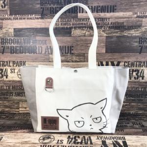 ヴィンテージ帆布の猫boxerトートバッグ