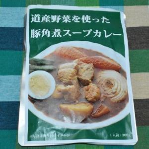 道産野菜を使った豚角煮スープカレー