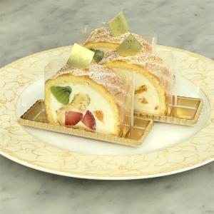 フルーツロールケーキを作ったよ。〜専門学生の学び〜