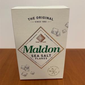 話題のMaldon saltを購入・レポ♪
