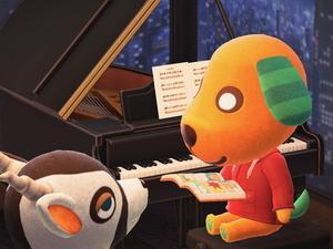 はじめてのどうぶつの森【あつ森プレイ日記96】魅惑のピアノイス