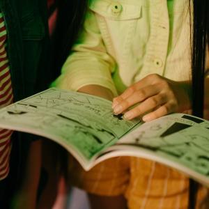 漫画の読み方を娘に教えた日