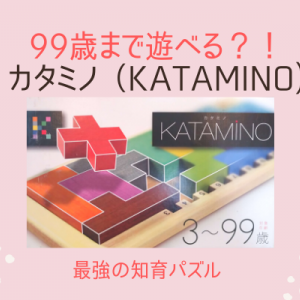 【カタミノKATAMINO×遊び方】最強のおすすめ知育パズル