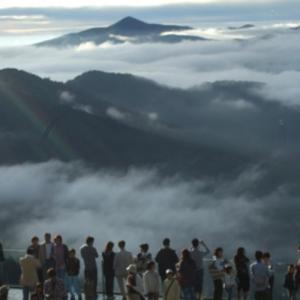 北海道 トマム星野リゾート  雲海テラス
