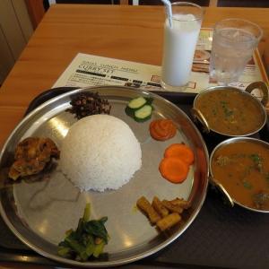 【福工大前】具沢山なダルバート!ネパール料理店「ガウレ」のムスタングセット