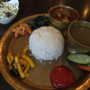 【吉塚駅前】本格ネパール料理「ナングロガル福岡店」のダルバトセット