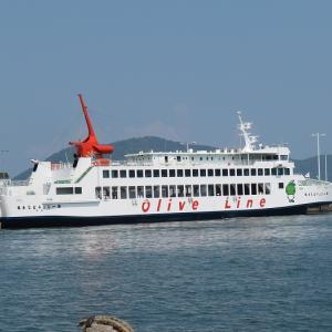【撮影記録】高松港でフェリーを激写!散歩気分で船撮りできる(香川県高松市)
