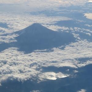 【旅行記】青春18きっぷで行く東北旅2020→2021 7日目(完)―飛行機から富士山を「疑似お鉢めぐり」