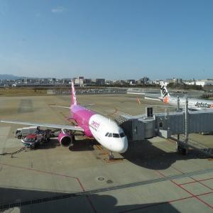 【2021年1月】ピーチアビエーションMM523便に乗る(成田~福岡)