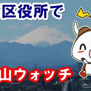 【ねり丸を探せ】富士山も見える練馬区役所展望台に行ってみた