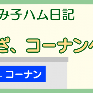 【ハム漫画005】いざ、コーナンへ!