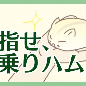 【ハム漫画033】目指せ、手乗りハム!