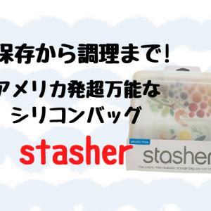 超万能なシリコンバッグ『スタッシャー』保存〜調理までこれ1つ!