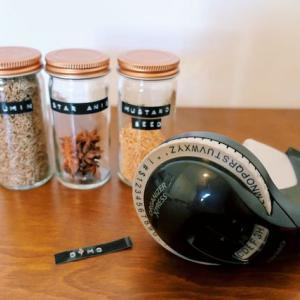 おしゃれなテープライターDYMO(ダイモ)。レトロ可愛いラベリングで整理整頓。