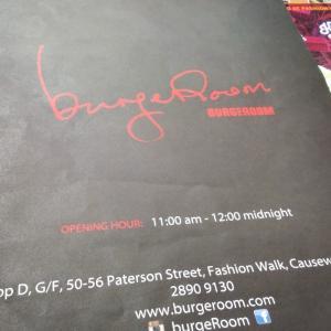 Burgeroom@銅鑼灣(Causeway Bay)