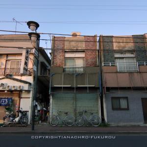 小平散策(3):一橋学園南口商店会の街並み。