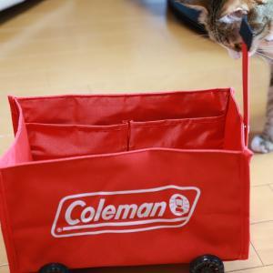 コールマンの猫用?カート。