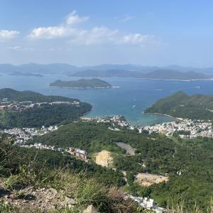 香港ハイキング 釣魚翁ハイジャンクピークトレイル