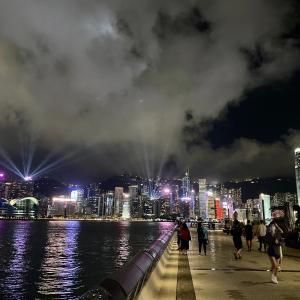 香港名物シンフォニー・オブ・ライツ 寂しい2020/06現在の様子