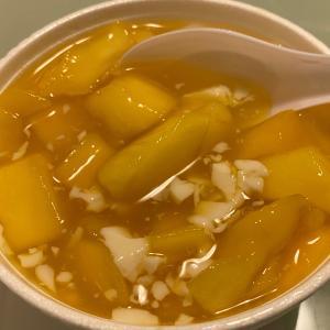 香港食べ歩き マンゴー豆腐花(ダウフファ)が美味しい〜