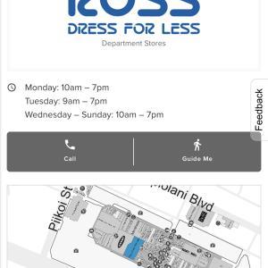 ホノルル 激安ショッピング Ross Dress for Less ロスドレスフォーレス