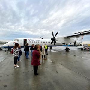 モスタル旅日記更新 街歩き・プロペラ機で移動・ゲストハウス・ザグレブ空港ラウンジ