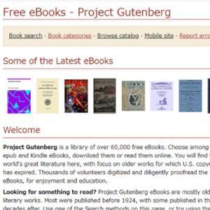 無料で洋書が読めるサイト【Project Gutenberg】で英語を多読する方法