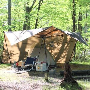梅雨の晴れ間にソロキャンプ。昨年の挫折のリベンジ成功しました。