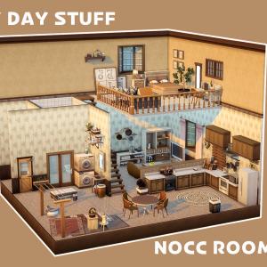 LAUNDRY DAY STUFF のアイテムでNOCC建築!
