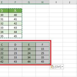 Excelで表の行と列を入れ替える方法