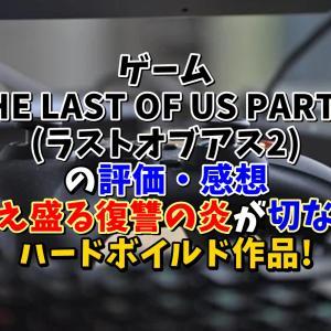 ゲーム【THE LAST OF US PART II(ラストオブアス2)】の評価・感想!燃え盛る復讐の炎が切ないハードボイルド作品!