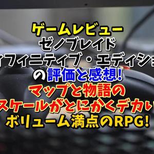 ゲームレビュー【ゼノブレイドDE(ディフィニティブ・エディション)】の評価と感想!マップと物語のスケールがとにかくデカいボリューム満点のRPG!