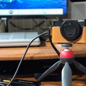 RX100M7をウェブカメラにしてみた