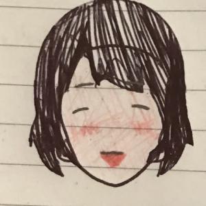 下の娘の似顔絵力