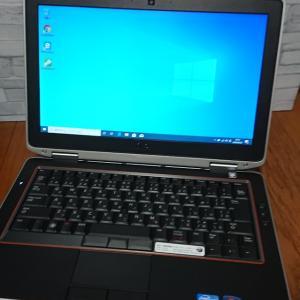 LATITUDE E6320 メモリ増設 SSD換装