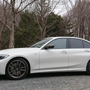 BMW G20 お彼岸ドライブ ~さくらの便りを探しに~