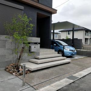 稲沢市の新築外構