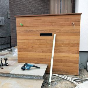 稲沢市の新築外構工事
