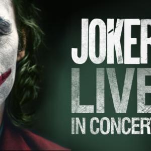 『JOKER LIVE IN CONCERT』映画 「JOKER」のフィルムコンサートの開催が決定