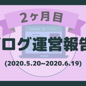 【2ヶ月目】ブログ運営報告【PV数/収益/流入源】
