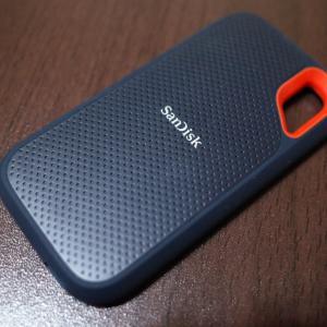 Amazon Prime Dayで買ったモノ、SanDisk Extreme Portable SSD 2TB!