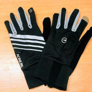 夜ランには手袋が必要な季節になってきましたね